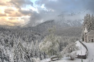 Alpen Retreat - Winter view