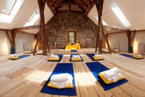 Yoga-Halle-Alpen-Retreat